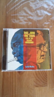 THAD JONES & MEL LEWIS 「LIVE AT THE VILLAGE VANGUARD」