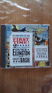 DUKE ELLINGTON & COUNT BASIE 「FIRST TIME!」